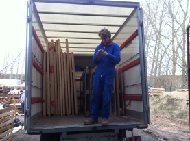 Flat-pack shelters ready to go