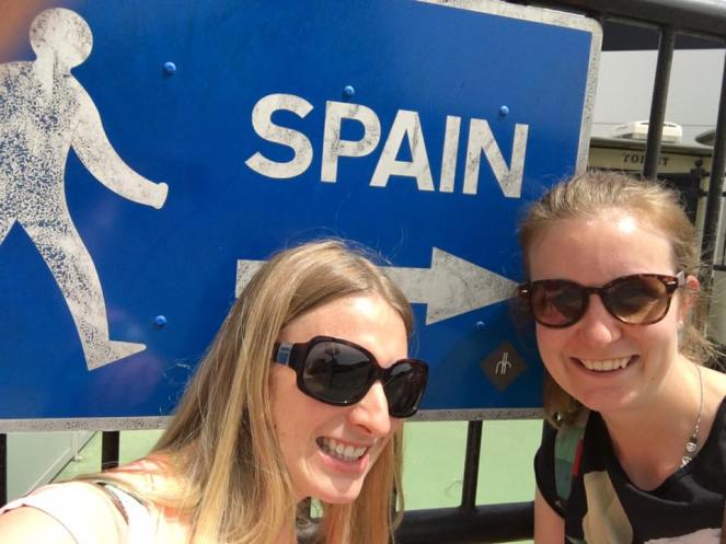 Crossing to Spain