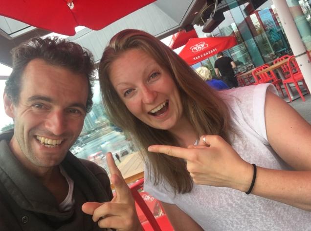 With Johan
